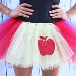 Running Tutu Snow White