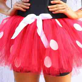 Running Tutu Minnie Mouse