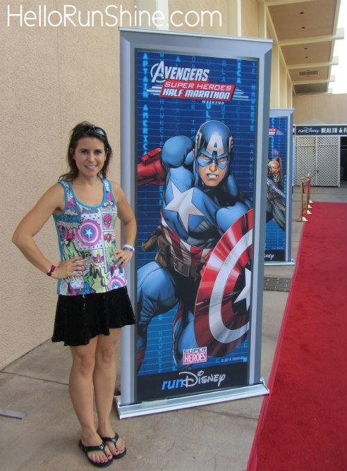 Avengers Half Marathon Race Recap