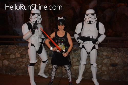 Star Wars Rebel Challenge Half Marathon Weekend Race Recap | HelloRunShine.com