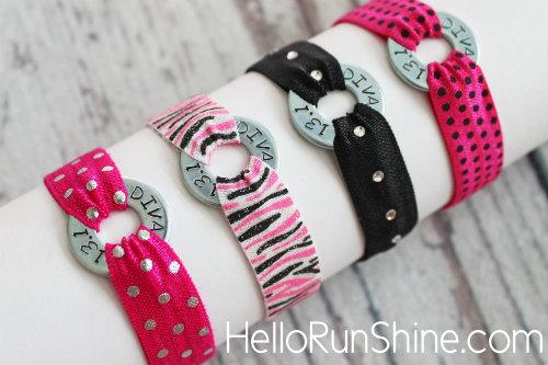 Perfect accessory for a Divas Race!