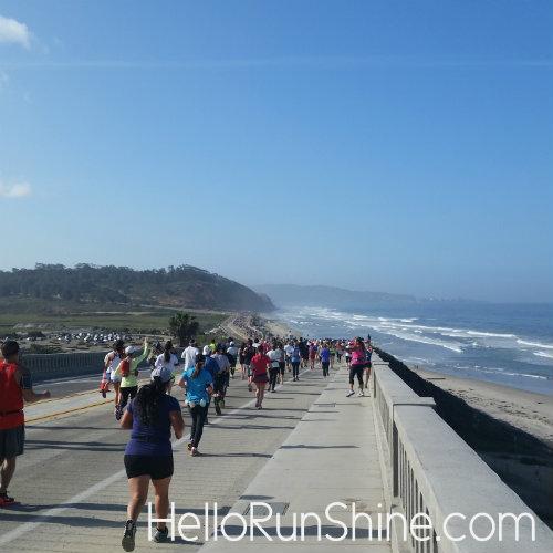 La Jolla Half Marathon Race Recap | Hello Runshine