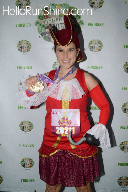 Captain Hook Running Costume | HelloRunShine.com