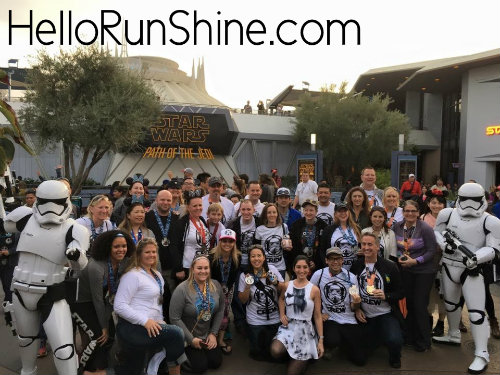 Star Wars Half Marathon Weekend Race Recap | HelloRunShine.com