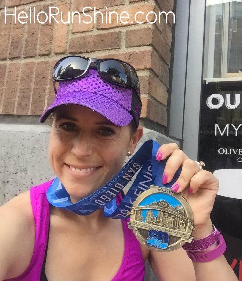 San Diego Half Marathon Medal